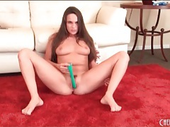 Naked teal conrad opens her legs and masturbates tubes