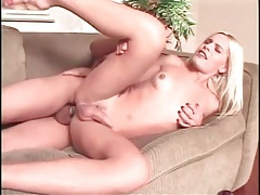 Big cock up the asshole of blonde tgirl tubes