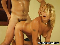 Amateur girlfriend anal action with facial cumshot tubes