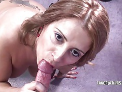 Mature slut sandie marquez is swallowing a stiff cock tubes
