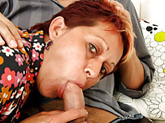 Blown by an insistent mature tubes