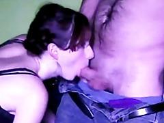 Blowjob from a lovely brunette tubes
