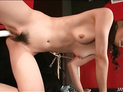 Toys turn on cunt of sexy maki hojo tubes