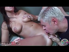 Shaved cunt of whitney westgate eaten out tubes