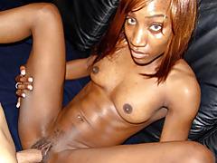 Skinny nubian slut fucked tubes
