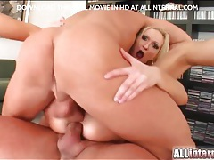 Angelina winter double penetration and creampie tubes