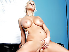 Busty slut riding cock tubes