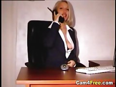 Hot Teen Secretary Masturbating tubes