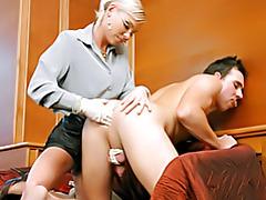 Fingering her man tubes