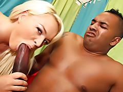 Black cock for white slut tubes