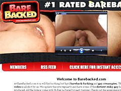 Cum In Gay Ass Bareback tubes