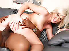 Black cock riding slut tubes