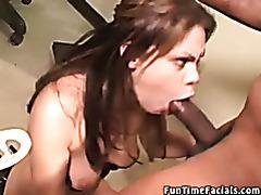 Interracial blowjob video tubes