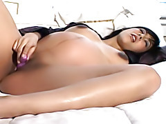 Pregnant pussy vibrated tubes
