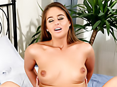 Young beauty rides cock tubes