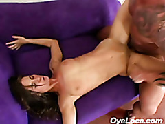 slender latina gets rammed hard by a muscled guy tubes