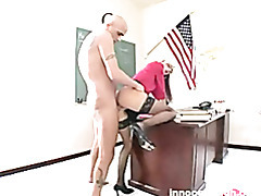 lovely blonde working student fucking her prof for more considerations on her performance tubes