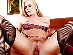 Your luscious housewife in stockings tubes