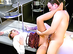 Fucking his satin girlfriend tubes