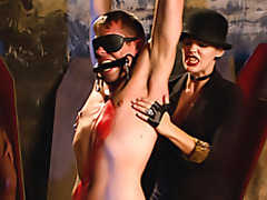 Delightful femdom plays with submissive tubes
