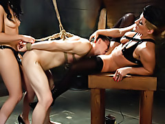 Dude strapon fucked by femdom tubes