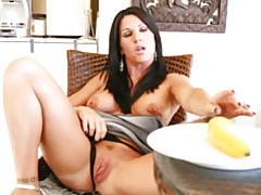 Unforgettable amazing MILF masturabation w/ toys tubes
