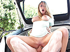Group sex in a car tubes
