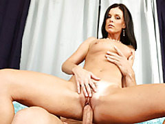 Milf prepares him with blowjob tubes