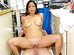 Storage room Latina fuck tubes
