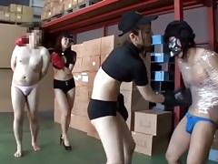 Two girls physically abuse sub guys tubes