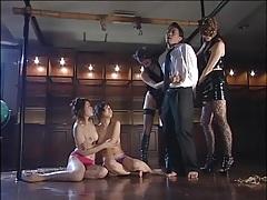 Artful rope bondage in japanese group porn tubes