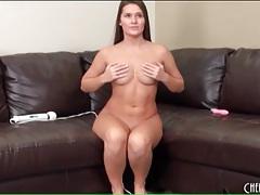 Naked beauty abby cross fucks her pussy tubes