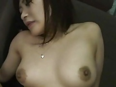 Japanese cunt fucked in a roomy van tubes