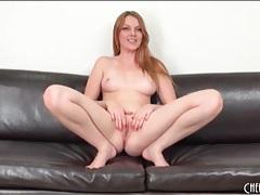 Shaved redhead marie mccray masturbates tubes