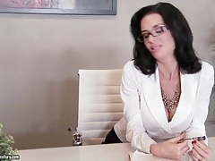 Boss veronica avluv sucks employee cock tubes