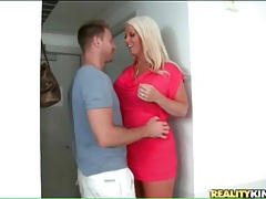 He fools around with voluptuous milf tubes
