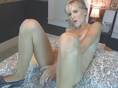 Blonde milf jolene takes some dick and gets a creampie tubes