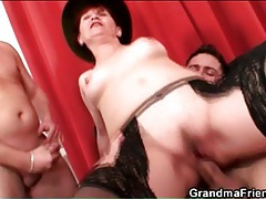 Horny mommy rides and sucks dick lustily tubes