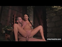 Beautiful anissa kate takes big cock in her box tubes