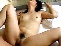 Moaning asian girlfriend fucked tubes