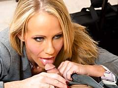 Naughty blond teacher simon licks dick tubes