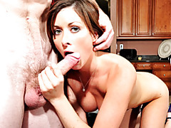 Perky milf ashlee milking thick cock tubes