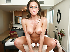Pierced tits girl on top tubes
