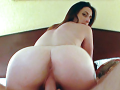 Big ass is best for reverse cowgirl tubes