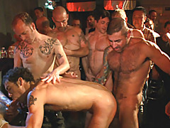Fucked hard in a bar tubes