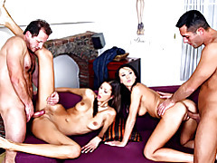 Oral and fuck in group sex tubes