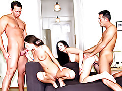 Euro cunts in group sex tubes