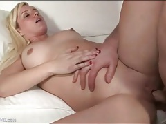 Young blonde with a great ass loves to fuck tubes
