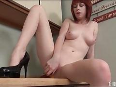 Beautiful redhead zoey nixon masturbates pussy tubes