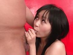 Japanese nozomi hazuki sucks and rides his dick tubes